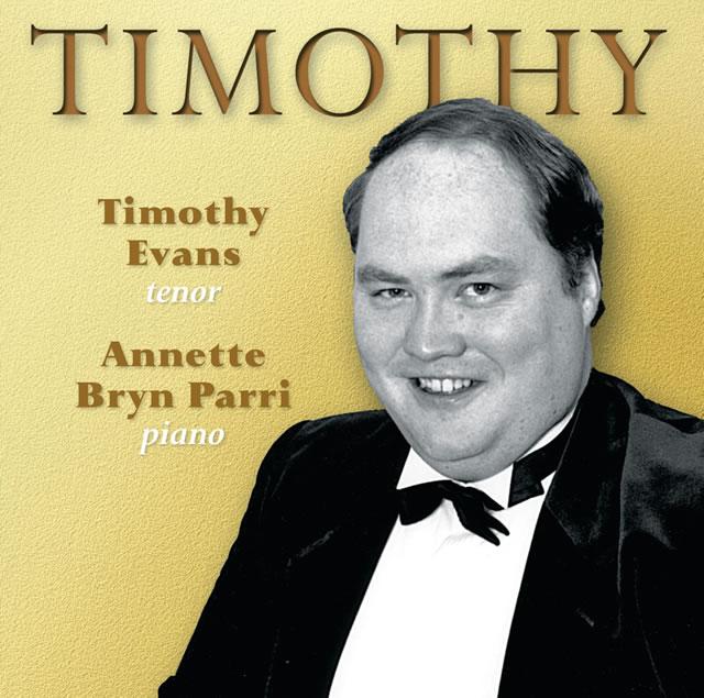 Timothy Evans - Timothy